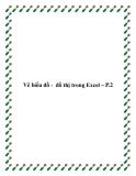 Vẽ biểu đồ - đồ thị trong Excel – P.2