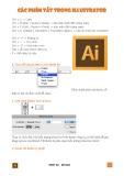 Các phím tắt trong illustrator cs6