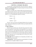 Giáo trình linh kiện điện tử -  Chương 1: Linh kiện thụ động
