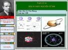 Mẫu nguyên tử bo  – Bài giảng vật lí 12