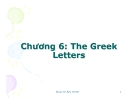 Bài giảng Công cụ tài chính phái sinh (ĐHKT Đà Nẵng) - Chương 6