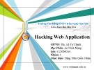 Hacking Web Application
