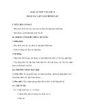 Giáo án ngữ văn lớp 11 tuần 27: Thao tác lập luận bình luận