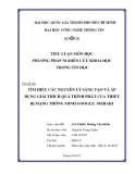 Tiểu luận:TÌM HIỂU CÁC NGUYÊN LÝ SÁNG TẠO VÀ ÁP DỤNG GIẢI THÍCH QUÁ TRÌNH PHÁT CỦA THIẾT BỊ MẠNG THÔNG MINH GOOGLE -MERAKI