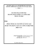 Tiểu luận:PHÂN TÍCH CÁC NGUYÊN LÝ SÁNG TẠO ĐƯỢC ỨNG DỤNG VÀO CÁC CÔNG NGHỆ WEB HIỆN NAY