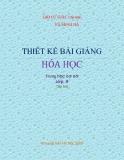 Ebook Thiết kế bài giảng Hóa học 9: Tập 2 - NXB Hà Nội
