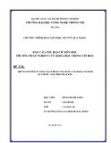 Tiểu luận:NHỮNG NGUYÊN LÝ SÁNG TẠO TRONG ỨNG DỤNG CÂN BẰNG TẢI WEB (CLUSTER – SYNCHRONIZATION)