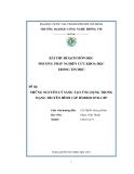 Tiểu luận:NHỮNG NGUYÊN LÝ SÁNG TẠO ỨNG DỤNG TRONG MẠNG TRUYỀN HÌNH CÁP HYBRID DVB-C/IP