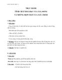 Giáo án bài 39: Thực hành Tính chất hóa học của sắt, đồng và những hợp chất của sắt, crom  – Hóa học 12 – GV.Phan Văn Hải
