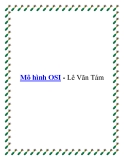 Mô hình OSI - Lê Văn Tám