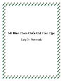 Mô Hình Tham Chiếu OSI Toàn Tập: Lớp 3 - Network