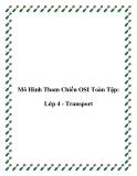 Mô Hình Tham Chiếu OSI Toàn Tập: Lớp 4 - Transport