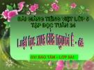 Bài giảng Tiếng việt 5 tuần 24 bài: Luật tục xưa của người Ê đê