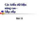 Bài giảng lập trình c căn bản - Trường Apptech - Chương 11