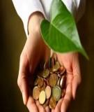Kinh tế môi trường - Chương I: Môi trường và phát triển