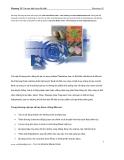 Photoshop CS - Chương 12: Tạo các hiệu ứng đặc biệt