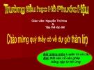 Bài giảng Tiếng việt 5 tuần 23 bài: Nối các vế câu ghép bằng cặp từ hô ứng