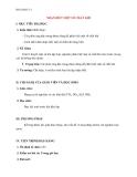 Giáo án bài 41: Nhận biết một số chất khí – Hóa học 12 - GV.Ng Thế Vinh