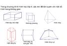 Bài giảng môn Toán lớp 9 – Hình học: Hình trụ-Diện tích xung quanh và thể tích của hình trụ