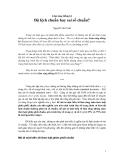 Lâm sàng thống kê: Bài 1. Độ lệch chuẩn hay sai số chuẩn - Nguyễn Văn Tuấn