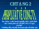 Bài giảng hay về luật kinh doanh - Trường ĐH Công Nghiệp Tp.HCM - Chương 2 Pháp luật về công ty cổ phần