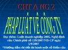 Bài giảng hay về luật kinh doanh - Trường ĐH Công Nghiệp Tp.HCM - Chương 2 Pháp luật về công ty hợp danh