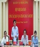 """Tư tưởng """"Dân vận"""" của Hồ Chí Minh - """"cẩm nang"""" của công tác dân vận thời kỳ mới"""