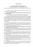Chuyên đề 3 Xây dựng nhà nước pháp quyền xã hội chủ nghĩa của dân , do dân, vì dân