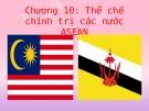 Chương 10: Thể chế bầu cử các nước ASEAN