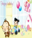 Chương trình tổ chức sinh nhật cho bé