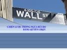 Bài giảng quản trị rủi ro tài chính - Bài 8.3