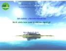 Bài 6 Chiến lược quản lý lâm sản ngoài gỗ - Nguyễn Quốc Bình
