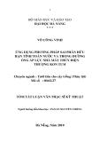 Luận văn: ứng dụng phương pháp sai phân hữu hạn tính toán nước va trong đường ống áp lực nhà máy thủy điện Thượng Kon Tum