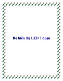 Bộ hiển thị LED 7 đoạn