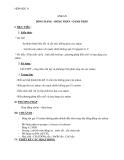 Giáo án Hóa 11 bài 25: Ankan  – GV.Ng Viết Thanh