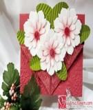 Làm thiệp hoa hướng dương tặng thầy cô ngày 20/11
