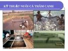 Bài giảng nuôi trồng thủy sản - Chương 7