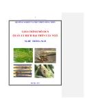 Giáo trình Quản lý dịch hại trên cây ngô