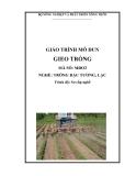 Giáo trình gieo trồng đậu tương, lạc