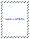 Lịch sử báo chí Việt Nam