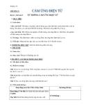 Giáo án bài 23: Từ thông. Cảm ứng điện từ - Vật lý 11- GV.L.T.Lý