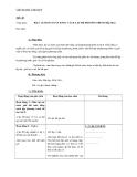 Giáo án Đại số 9 chương 3 bài 6: Giải bài toán bằng cách lập hệ phương trình (tiếp theo)