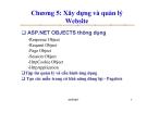 Bài giảng lập trình Web - Ts.Vũ Đức Lung - Chương 5