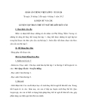 Giáo án bài Luyện tập thay thế từ ngữ để liên kết câu - Tiếng việt 5 - GV.N.Ngọc Như Quỳnh