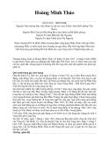 Nhà giáo Nhân dân Hoàng Minh Thảo