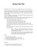 Nhà giáo Nhân dân Hoàng Như Mai