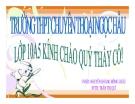 Bài giảng Ngữ văn 10 tuần 27 bài: Tình cảnh lẻ loi của người chinh phụ