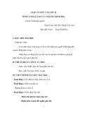 Giáo án Ngữ văn 10 tuần 27 bài: Tình cảnh lẻ loi của người chinh phụ