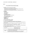 Giáo án Sinh học 12 bài 23: Ôn tập phần di truyền học