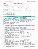 Giáo án hình học 9 về bảng lượng giác
